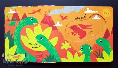 książeczka dla 2 latka o dinozaurach