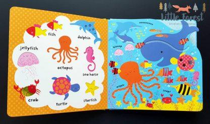 książka sensoryczna dla 2-3 latka do nauki języka angielskiego