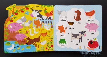książka sensoryczna dla 2-3 latka po angielsku