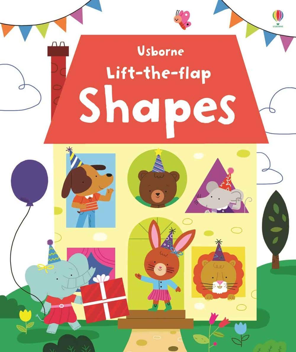 książka z otwieranymi okienkami o kształtach