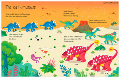 książka o dinozaurach dla dzieci
