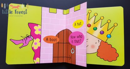 książka z okienkami dla dzieci po angielsku
