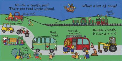 książka o pojazdach dla dzieci po angielsku