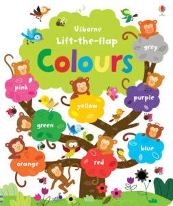 ksiązka o kolorach po angielsku