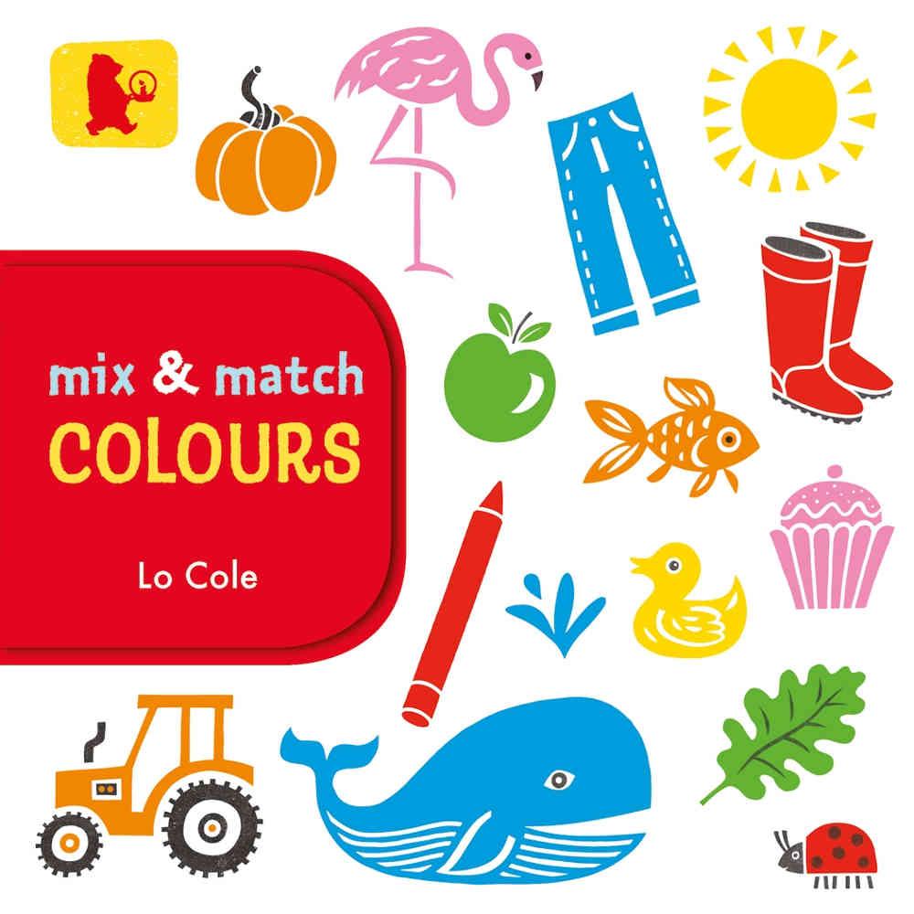 książka do nauki kolorów po angielsku