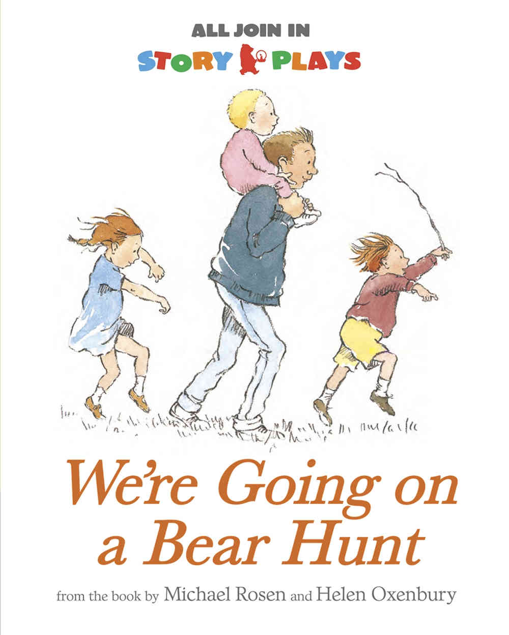 we're going on a bear hunt story plays