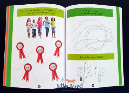 książka z naklejkami po angielsku
