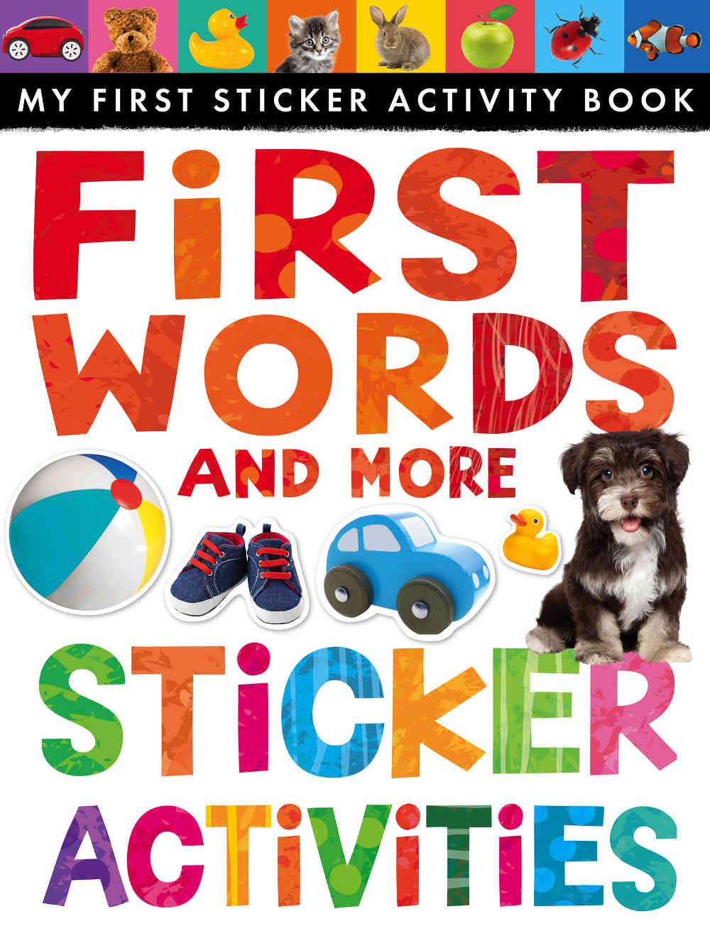 książka z naklejkami dla dzieci po angielsku