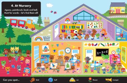 książka dla dzieci z naklejkami po angielsku