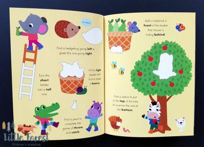ćwiczenia książka wipe-clean dla dzieci