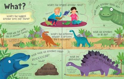 książka o dinozaurach dla dzieci po angielsku