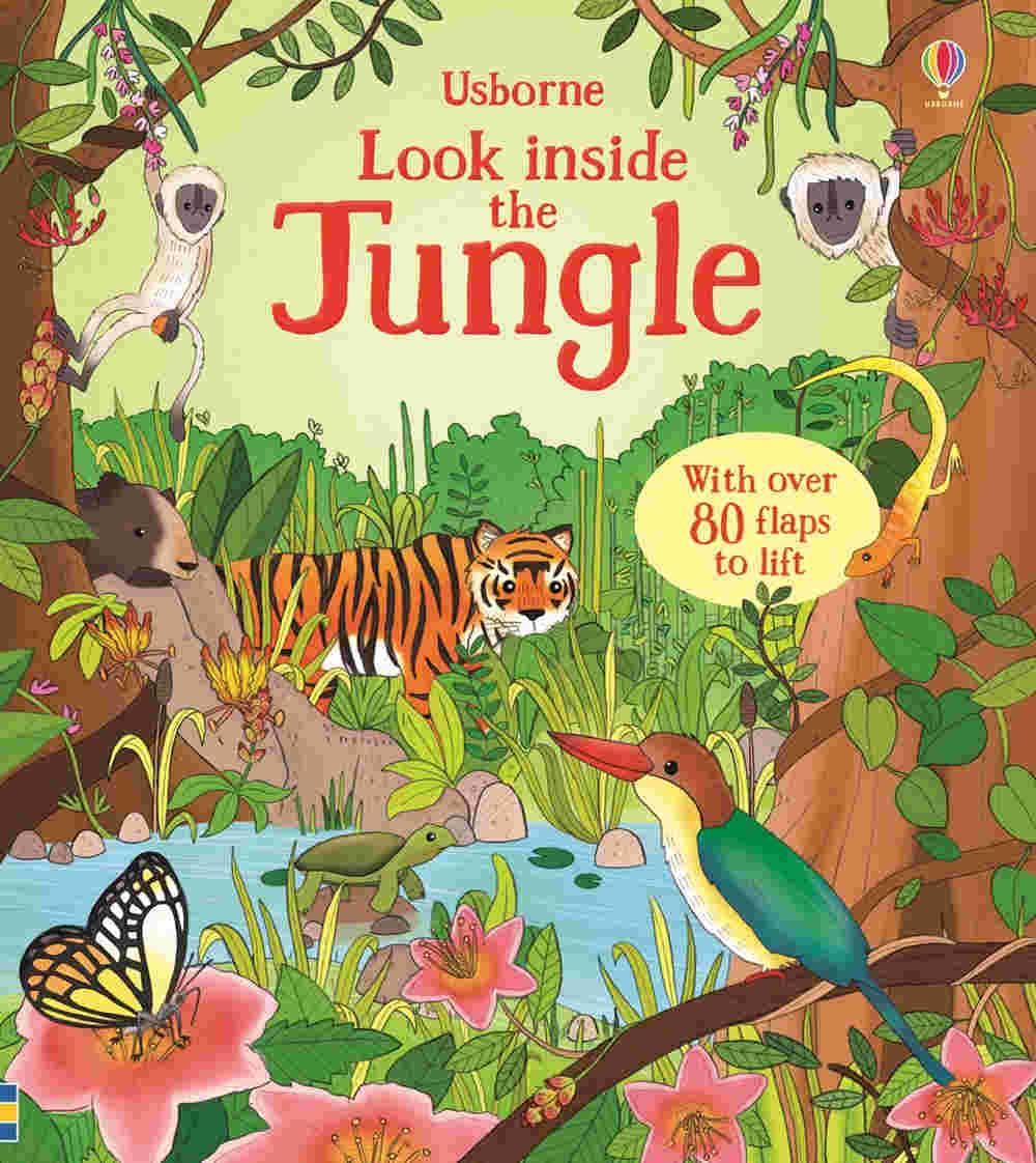 książka o zwierzętach z otwieranymi okienkami po angielsku