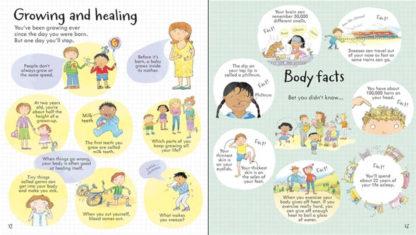 książka o ciele człowieka dla dzieci po angielsku