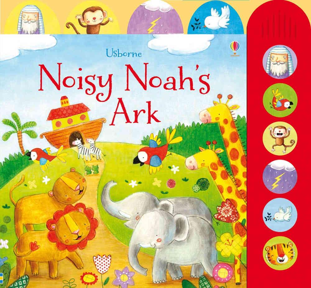 ksiązka dźwiękowa dla dzieci arka noego