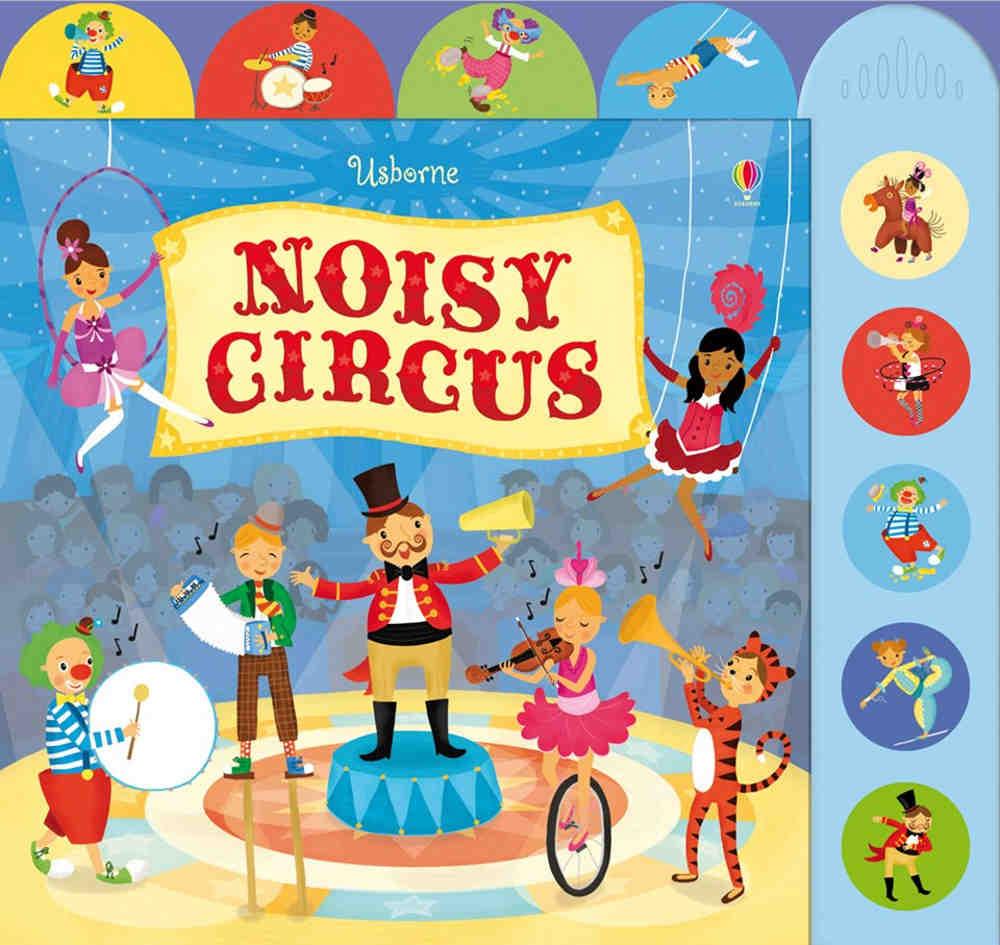 książka dźwiękowa po angielsku cyrk