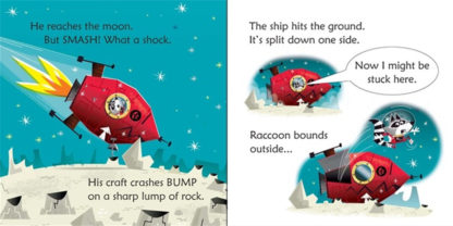 Raccoon on the moon usborne Phonics readers Russell Punter.jpg