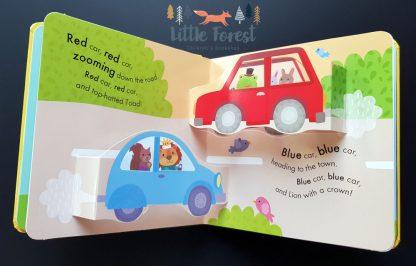książka trójwymiarowa 3D o pojazdach
