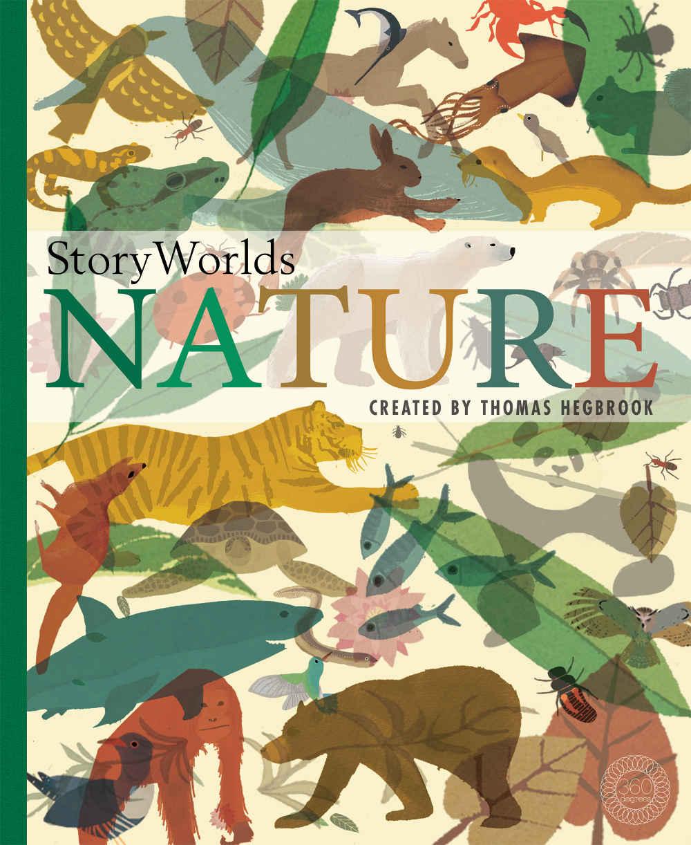 książka o zwierzętach ilustrowana po angielsku