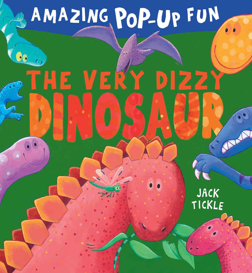 książka o dinozaurach dla dzieci trójwymiarowa 3d
