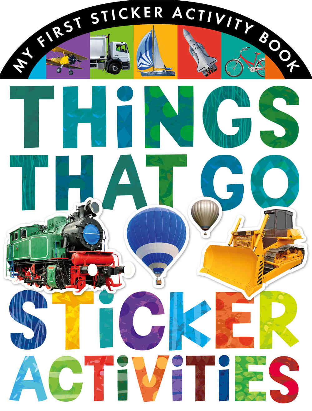 książka z naklejkami o pojazdach samochodach dla chłopca