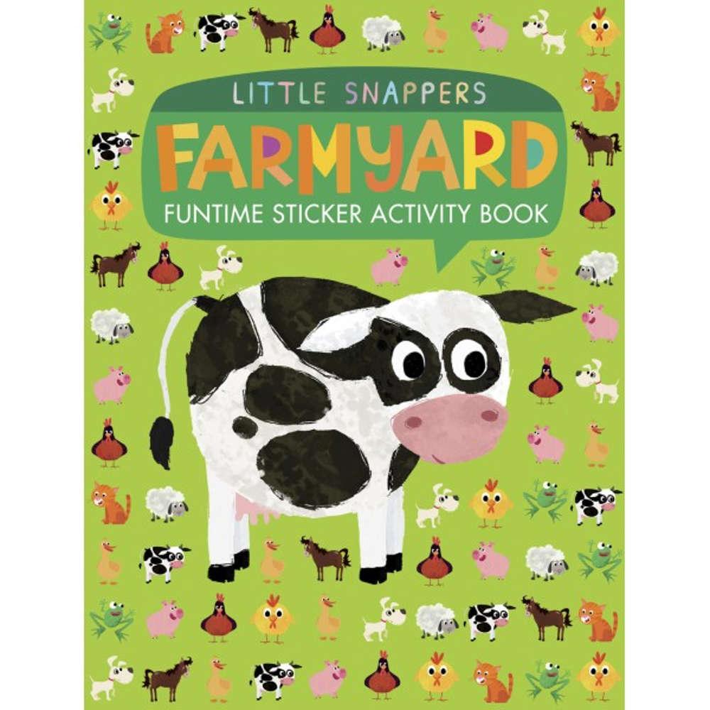 książka z naklejkami po angielsku o zwierzętach