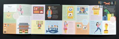 książka edukacyjna o miastach świat po angielsku
