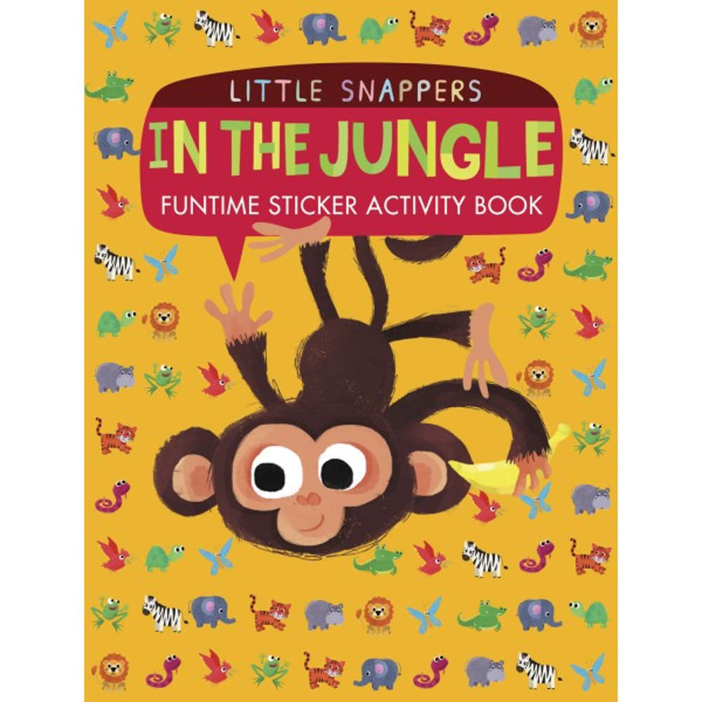 książka z naklejkami o zwierzętach po angielsku