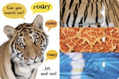 książka z otwieranymi okienkami o zwierzętach dla dzieci