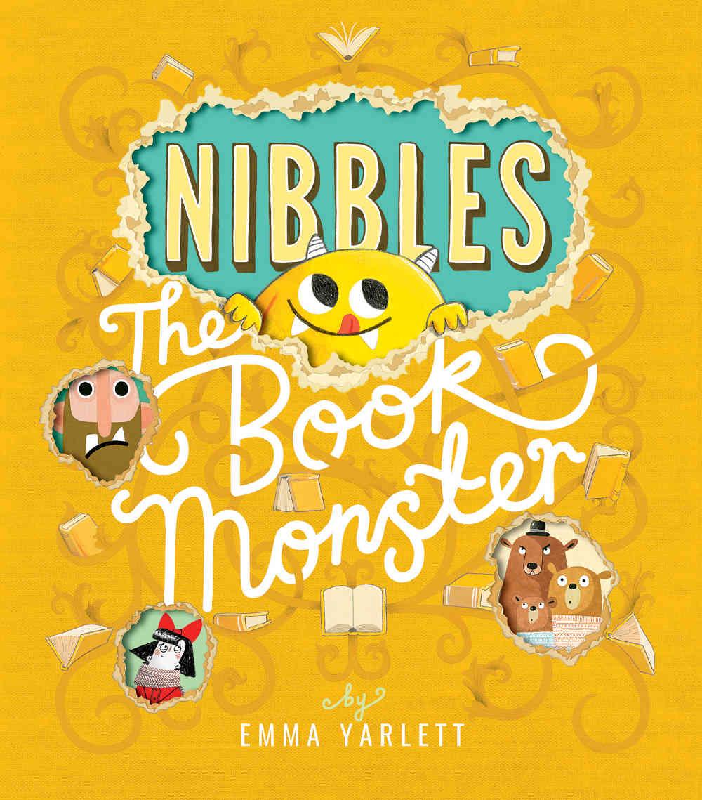 książka o potworach dla dzieci po angielsku