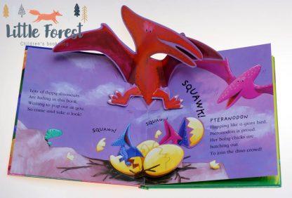 książka 3d o dinozaurach