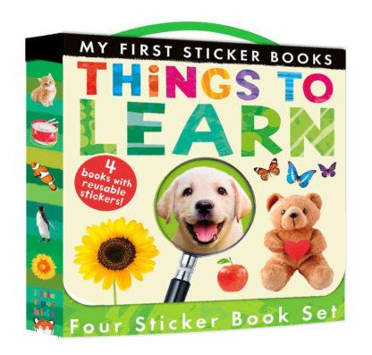ksiażki z naklejkami dla dzieci po angielsku