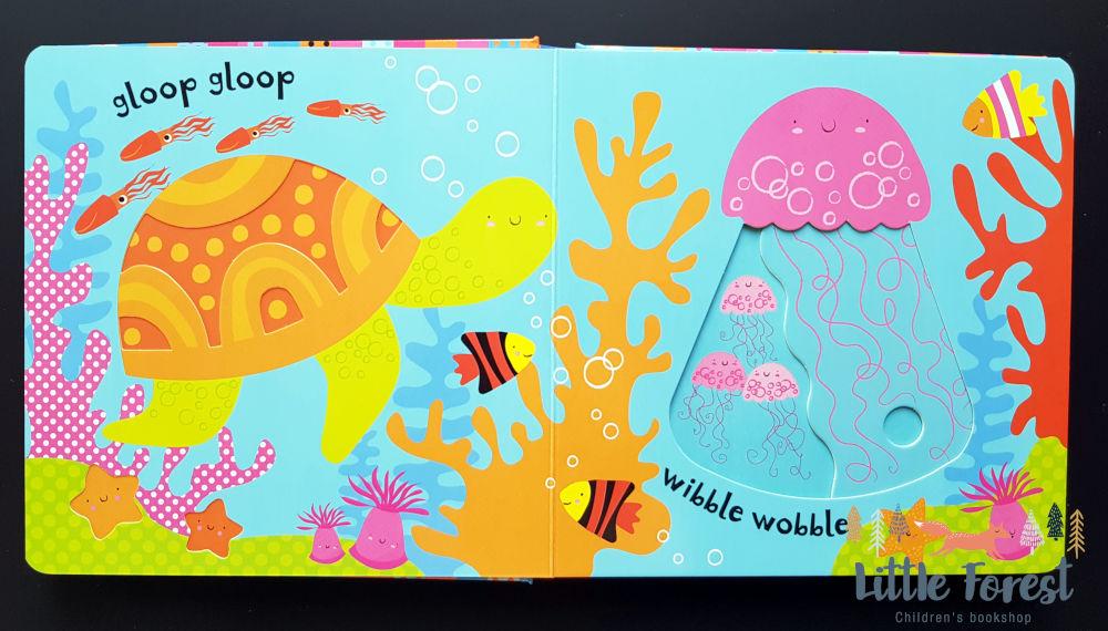 książka z ruchomymi elementami dla dziecka po angielsku