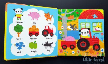 książka sensoryczna dla dzieci po angielsku