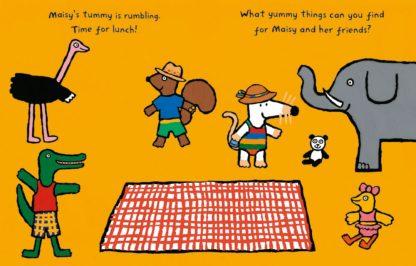 książka z naklejkami myszka maisy
