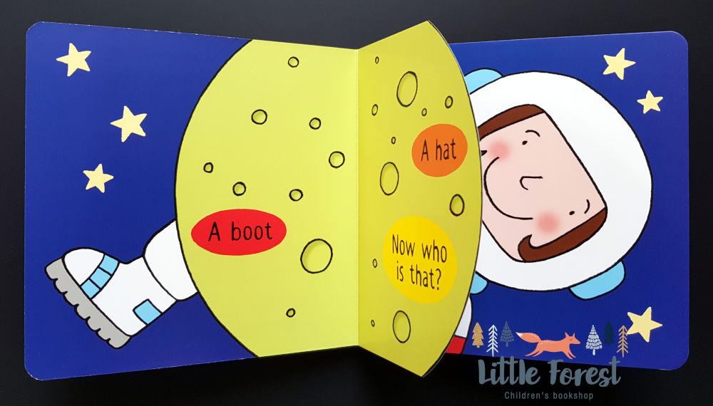 książka z otwieranymi okienkami dla dzieci