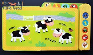 książka dźwiękowa dla 2 latka o zwierzętach