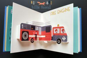 trójwymiarowa książka 3D o pojazdach