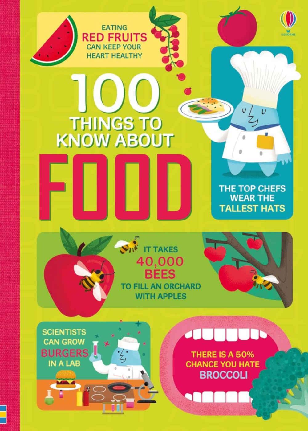 edukacyjna książka dla dzieci po angielsku o jedzeniu