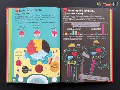 edukacyjna książka o ciele człowieka dla dzieci po angielsku