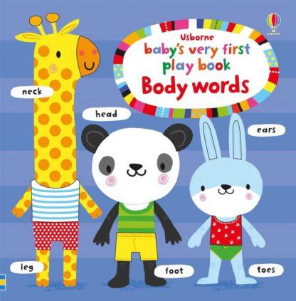 pierwsza książeczka dotykowa o ciele człowieka dla dzieci po angielsku