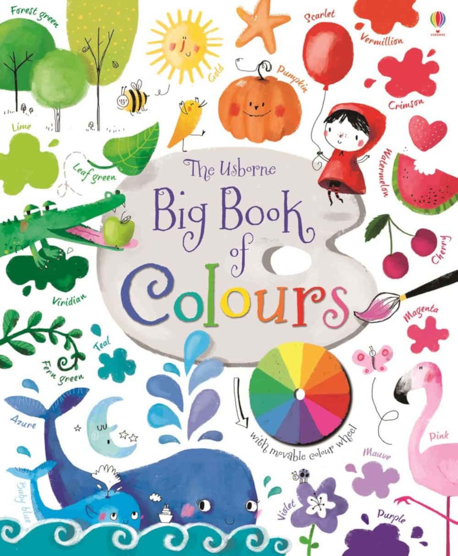 książka o kolorach dla dzieci
