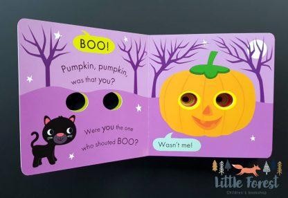 książka dotykowa dla dzieci po angielsku halloween