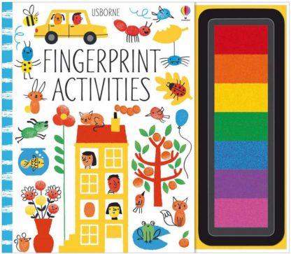 książka dla dzieci malujemy odciskami palców