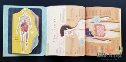 książka o ciele człowieka dla dzieci i młodzieży po angielsku
