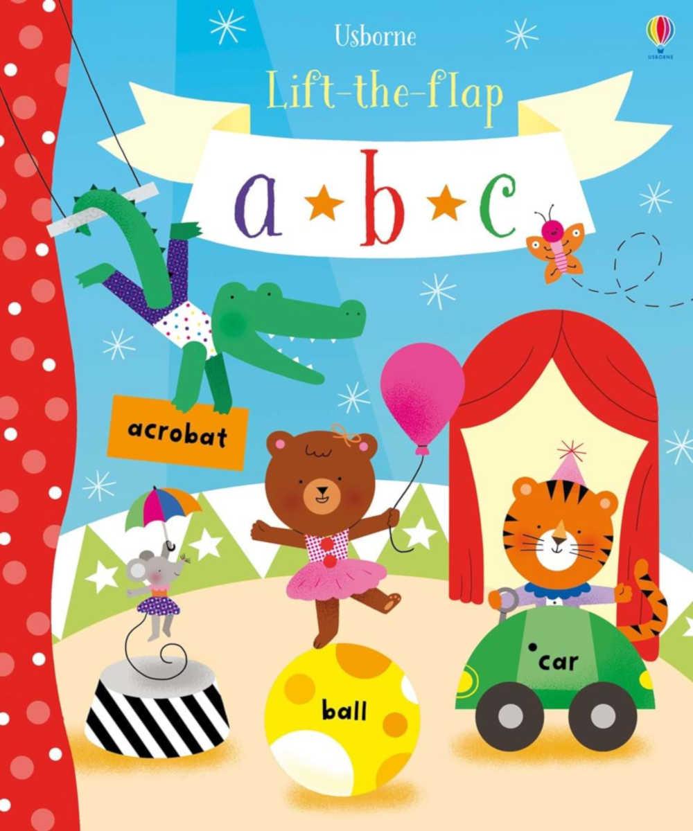 książka do nauki literek i alfabetu po angielsku