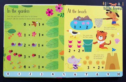książka do nauki liczenia od 1-10 dla dzieci po angielsku