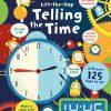 edukacyjna książka do nauki godzin i zegara po angielsku