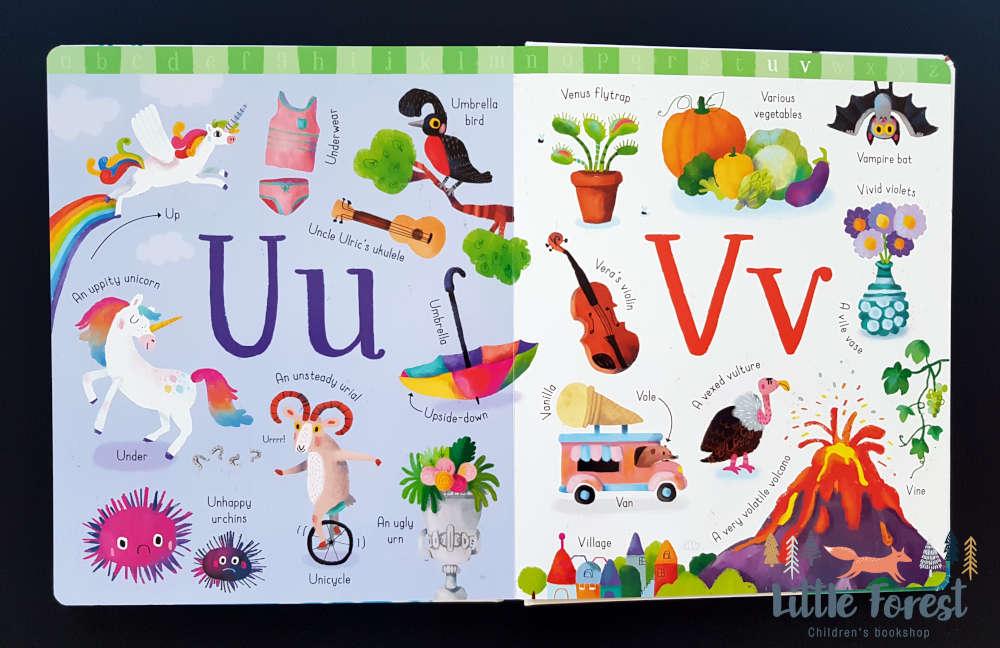 książka dla dzieci do nauki alfabetu po angielsku