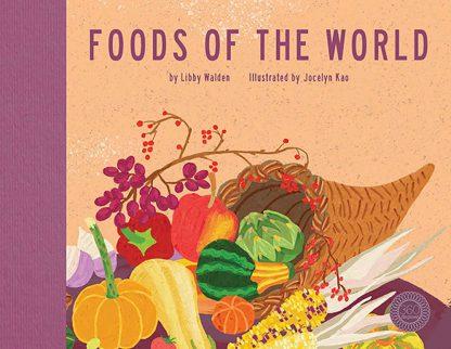 książka edukacyjna dla dzieci o jedzeniu po angielsku