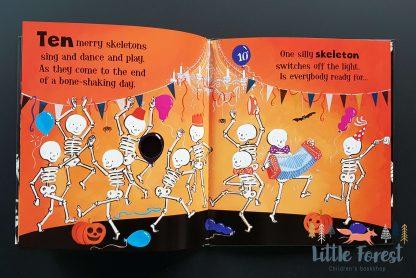 najlepsza książka na halloween dla dzieci świecąca w ciemności
